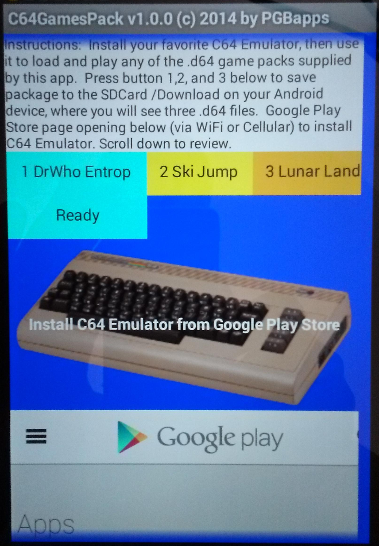 C64 Games Pack for Android - APK Download