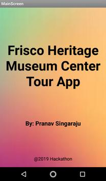 Frisco Heritage Museum Tour App poster