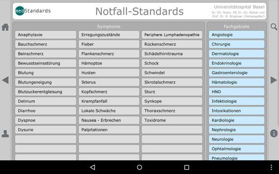 Notfallstandards free screenshot 8