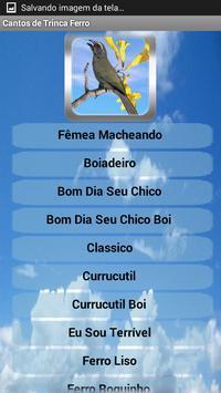 Poster Canto de Trinca Ferro