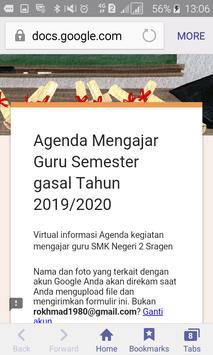Agenda Mengajar Guru SMK Negeri 2 Sragen screenshot 1