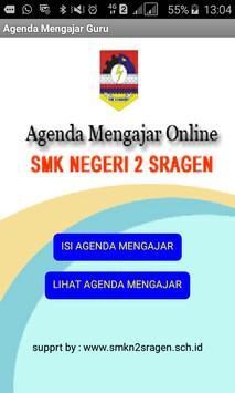 Agenda Mengajar Guru SMK Negeri 2 Sragen screenshot 2
