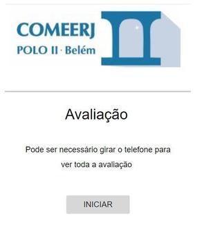 COMEERJ PÓLO II - Avaliação poster
