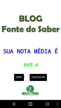 ENEM Calc screenshot 2