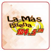 La Más Buena 104.5 FM icon