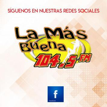 La Más Buena 104.5 FM screenshot 4
