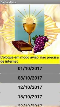 Folheto da Santa Missa dos Domingos poster