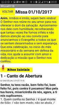 Folheto da Santa Missa dos Domingos screenshot 1