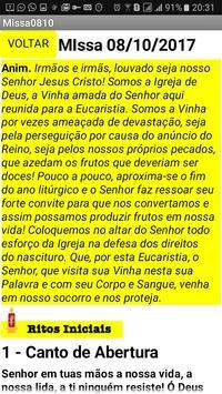 Folheto da Santa Missa dos Domingos screenshot 2