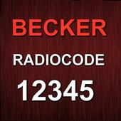 Becker 5Digit Radio Code icon