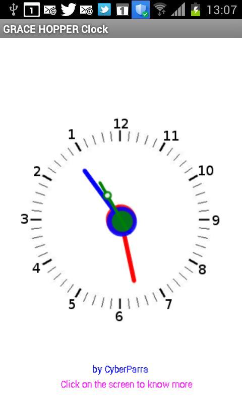 hopper clock