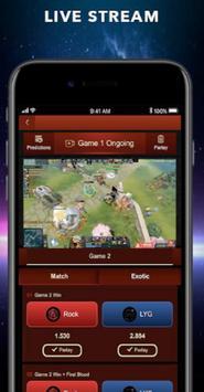 GG BET - Official Application Cybersport Guide screenshot 1