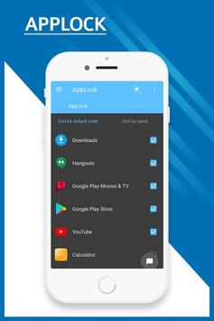 AppLock - Lock Apps, PIN Lock & Pattern Lock screenshot 1
