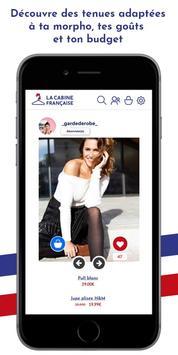 La Cabine Française poster