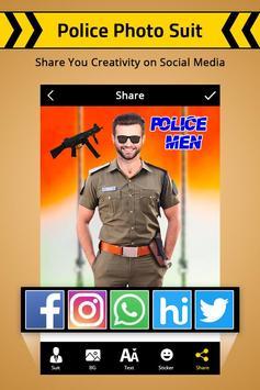 Police Photo Suit : Women & Men Police Suit screenshot 4