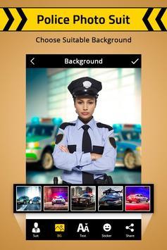 Police Photo Suit : Women & Men Police Suit screenshot 1