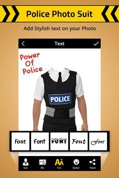 Police Photo Suit : Women & Men Police Suit screenshot 2