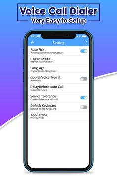 Voice Call Dialer screenshot 4