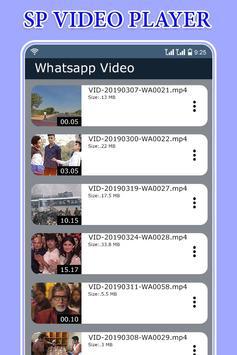 SP Video Player screenshot 1