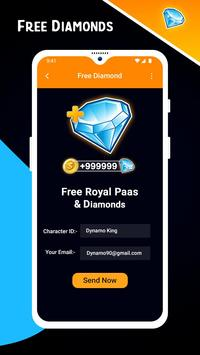 Guide and Free Diamonds for Free स्क्रीनशॉट 2