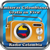 Emisoras Colombianas Gratis en Vivo Radio Colombia-icoon