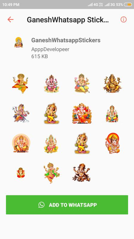 whatsapp sticker app for android