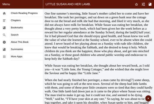 Little Susan and her lamb - Public Domain screenshot 2
