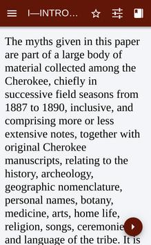 Myths of the Cherokee poster
