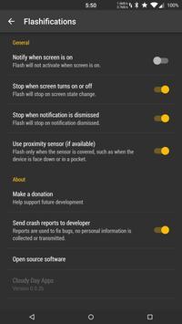 Flashifications screenshot 3