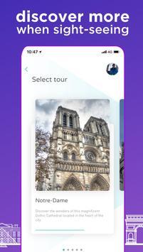Vidi Guides: Paris & London Audio Tours screenshot 2