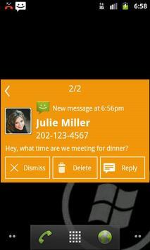 Notify - WP7 Mango Theme screenshot 1