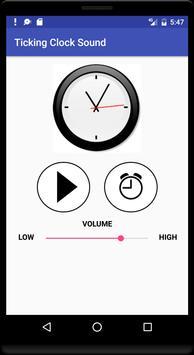 Ticking Clock Sound poster