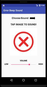 Error Beep Sound poster