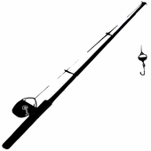 Fishing Rod Reeling Sound icon