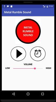 Metal Rumble Sound poster