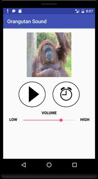 Orangutan Sound تصوير الشاشة 1