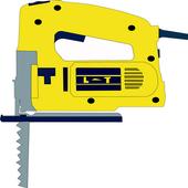 Power Tool Jigsaw Sound icon