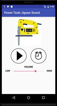 Power Tool Jigsaw Sound poster