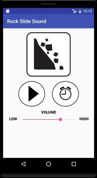 Rock Slide Sound poster