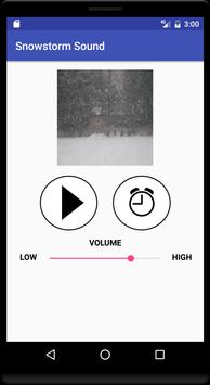 Snowstorm Sound screenshot 1