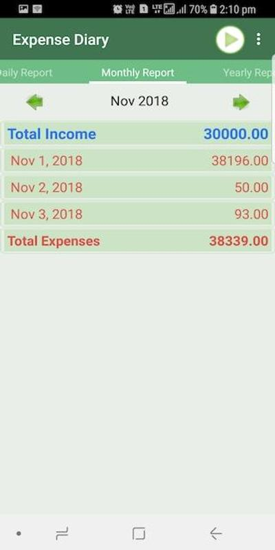 expense diary for android apk download