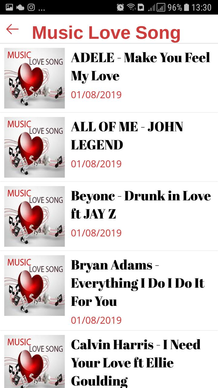 Music Love Songs mp3 Collection for Android - APK Download