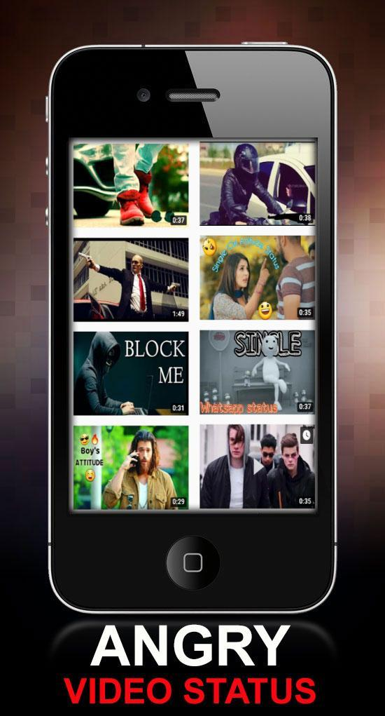 Angry Mood off Video Status: Broken Heart for Android - APK