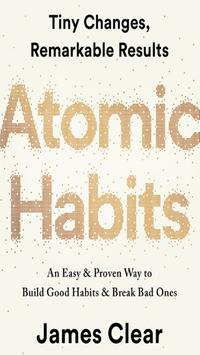 Atomic Habits By James clear 海报