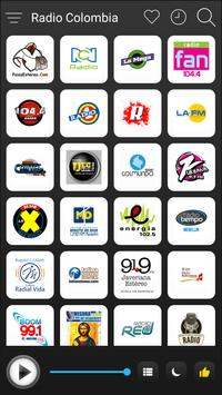 Colombia Radio Stations Online - Colombia FM AM poster
