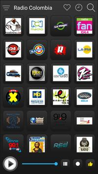 Colombia Radio Stations Online - Colombia FM AM screenshot 1