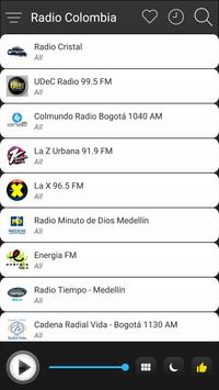 Colombia Radio Stations Online - Colombia FM AM screenshot 2