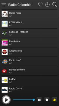 Colombia Radio Stations Online - Colombia FM AM screenshot 3