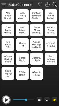 Cameroon Radio Stations Online - Cameroon FM AM poster