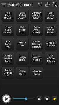 Cameroon Radio Stations Online - Cameroon FM AM screenshot 1